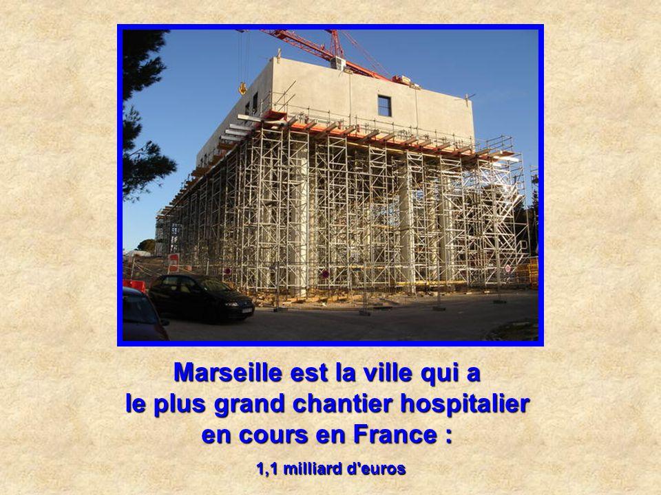 Marseille est la ville qui a les seuls silos à sucre de France : d'une capacité de 2 6000 tonnes, ils stockent le sucre en vrac destiné à la raffineri