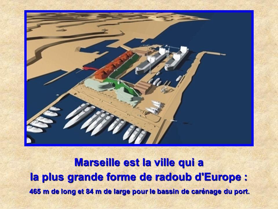 Le plus important chantier de réaménagement urbain de France : Euroméditerranée, de la Joliette à St Charles. Marseille est la ville qui a
