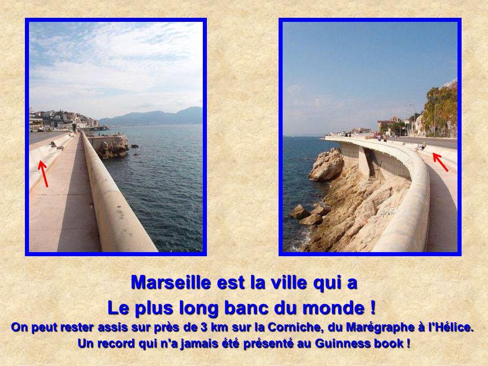 Marseille est la ville qui a la plus grande station d'épuration enterrée d'Europe
