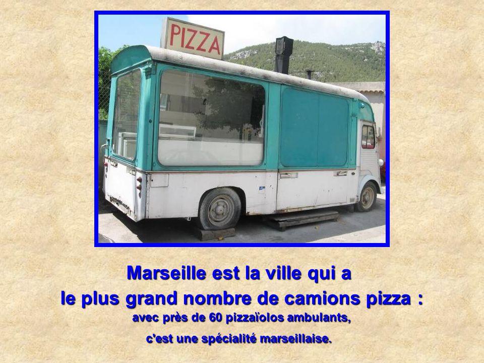 Marseille est la ville la plus ensoleillée : avec 233 jours de soleil intégral par an et à peine 100 jours mouillés.