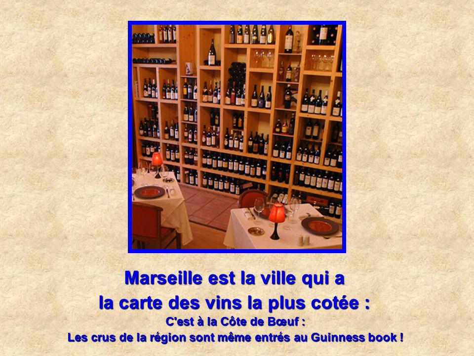 Marseille est la ville qui a le plus grand nombre de camions pizza : avec près de 60 pizzaïolos ambulants, c'est une spécialité marseillaise.