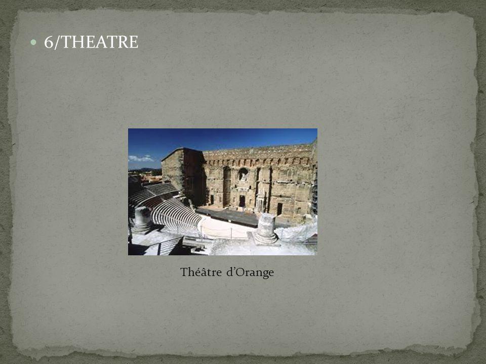 6/THEATRE Théâtre d'Orange