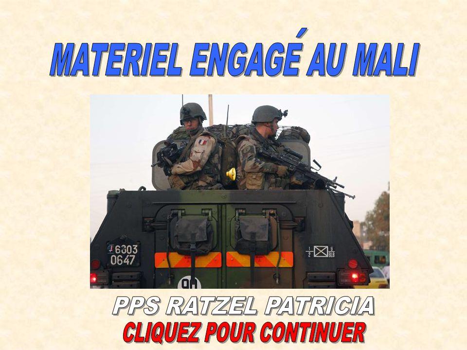 Officier et sous-officier du 21ème RIMa, à Diabali en compagnie d un officier malien, devant le cratère provoqué par une bombe française ; à noter que les militaires du 21ème RIMa sont armés de FAMAS félinisé