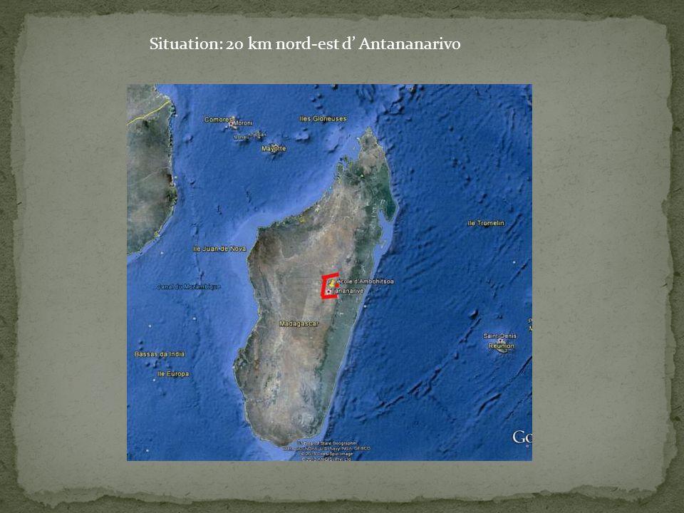Situation: 20 km nord-est d' Antananarivo