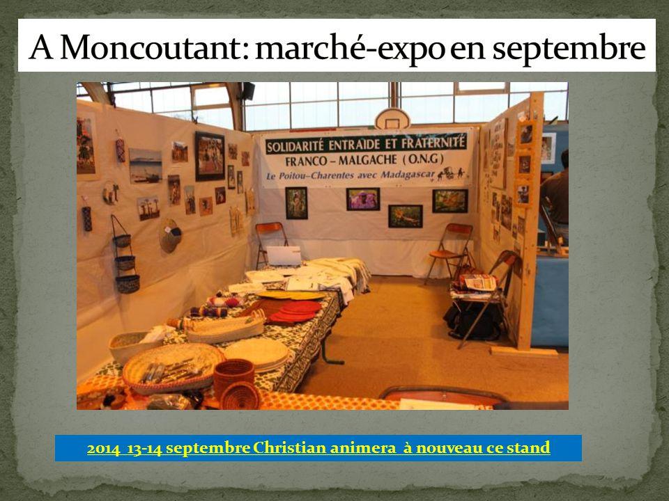 2014 13-14 septembre Christian animera à nouveau ce stand