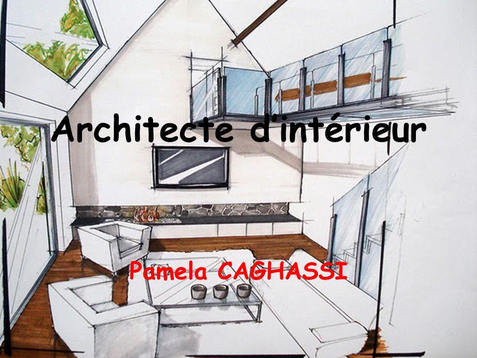 Architecte d'intérieur Pamela CAGHASSI