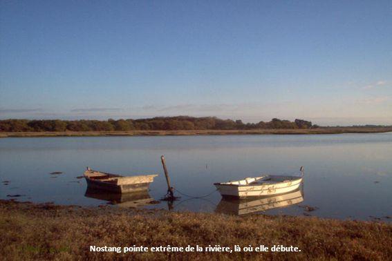 Vues sur la pointe du Verdon et la presqu'île de Locoal-Mendon