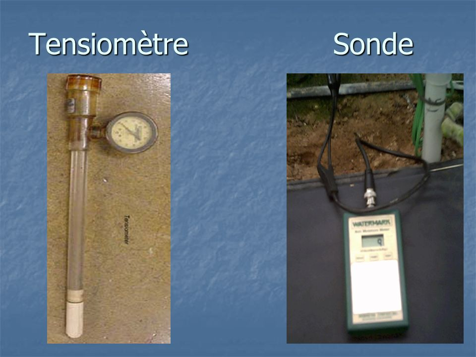Tensiomètre Sonde
