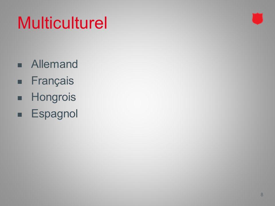 Multiculturel Allemand Français Hongrois Espagnol 8