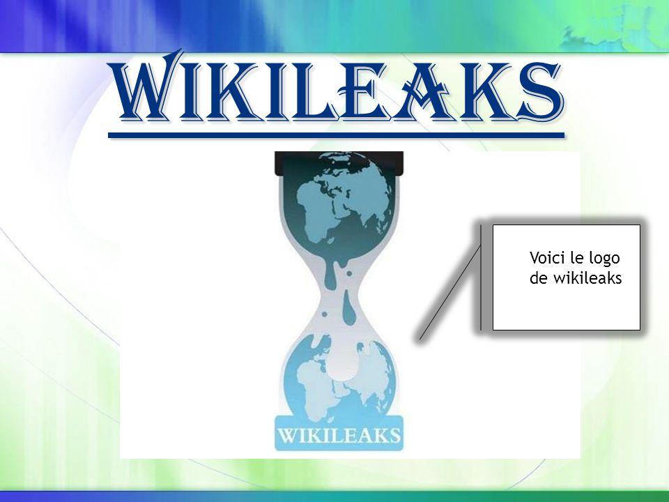 Wikileaks Voici le logo de wikileaks