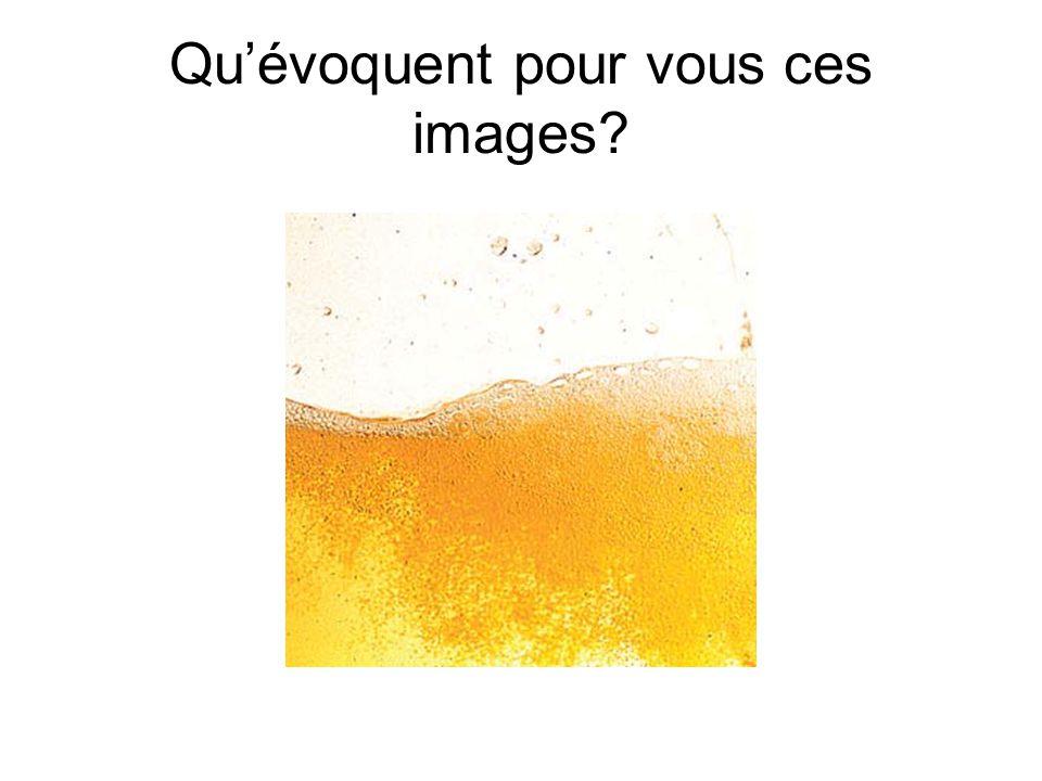 Qu'évoquent pour vous ces images?