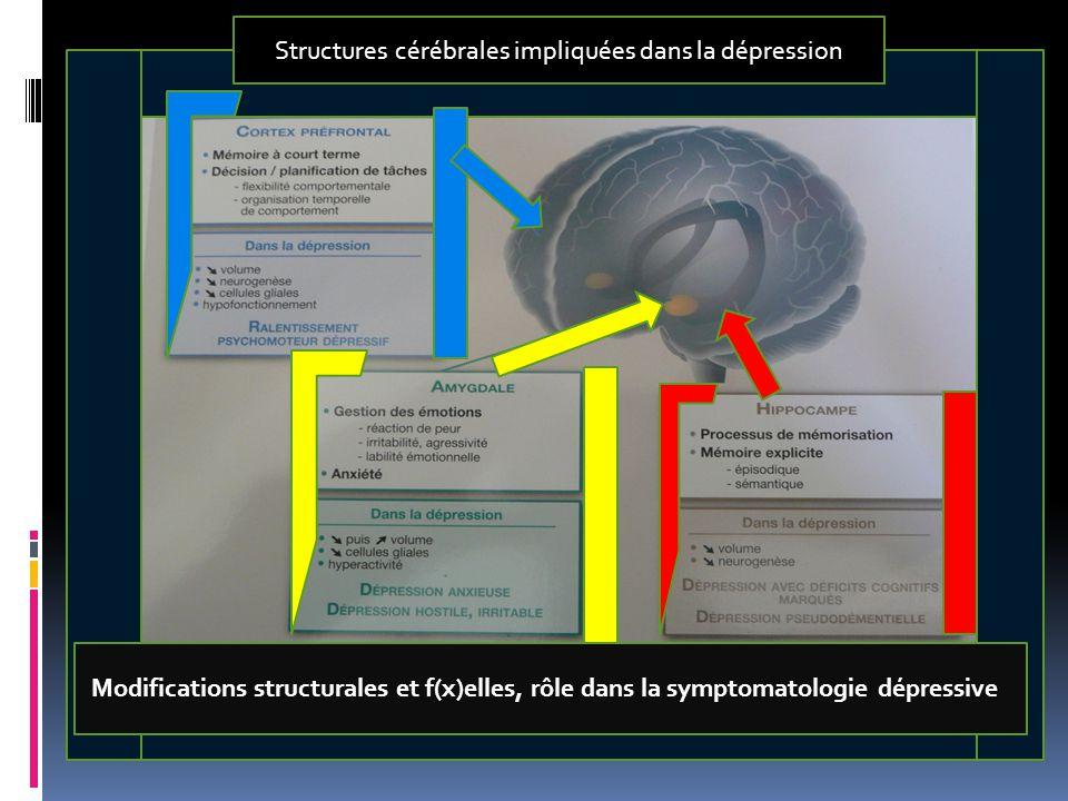 Je tiens à émettre une remarque : la dépression est une affection chronique ( au moins une ou deux récidives) Les suspects habituels en dehors des * m