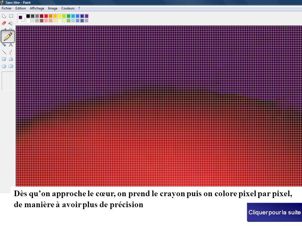 1 - Capter la couleur du fond avec la pipette : 3 - Sélectionner le pulvérisateur Cliquer pour la suite clic gauche sur la couleur après y avoir fait