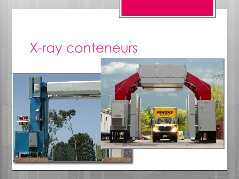 X-ray conteneurs