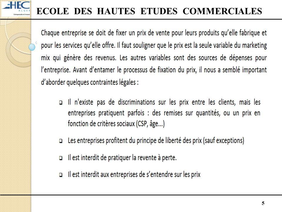 5 ECOLE DES HAUTES ETUDES COMMERCIALES