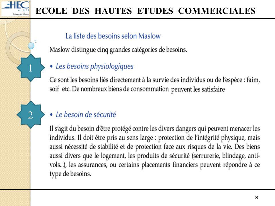 19 ECOLE DES HAUTES ETUDES COMMERCIALES