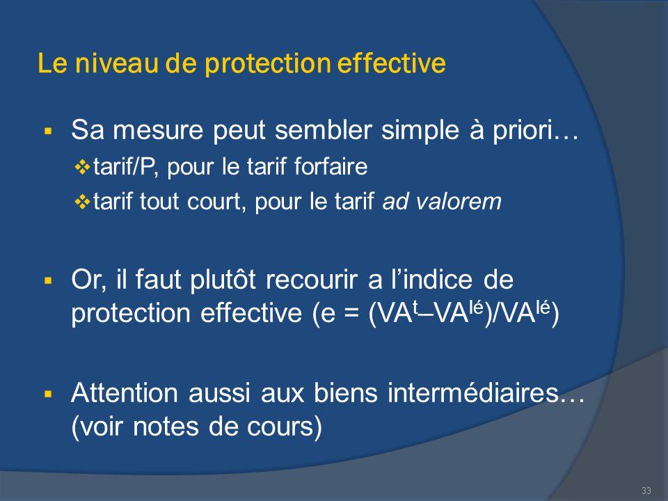  Sa mesure peut sembler simple à priori…  tarif/P, pour le tarif forfaire  tarif tout court, pour le tarif ad valorem  Or, il faut plutôt recourir