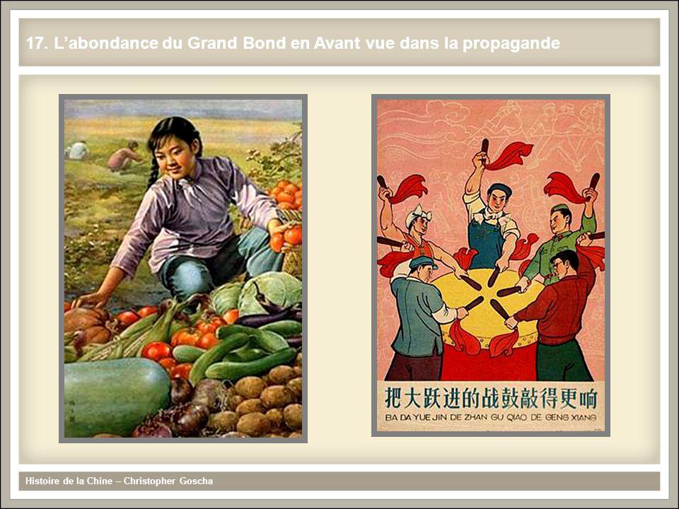 Histoire de la Chine – Christopher Goscha 17. L'abondance du Grand Bond en Avant vue dans la propagande