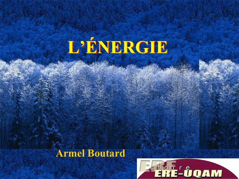 1 L'ÉNERGIE Armel Boutard