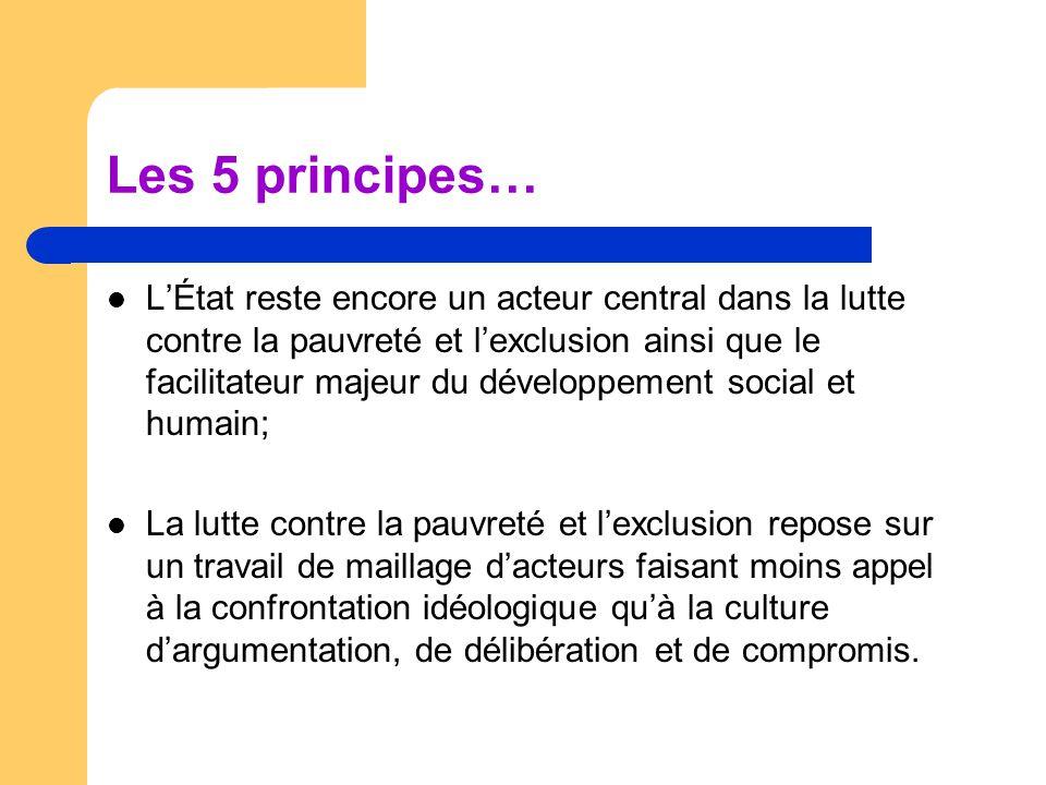 Les défis Faire passer l'intersectorialité du discours aux pratiques; Travailler à la mise en dialogue – des logiques d'actions – Des logiques de financements; Œuvrer à une meilleure réarticulation de l'économique et du social;