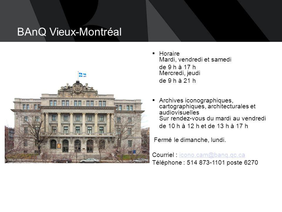 Bibliothèque et Archives nationales du Québec ▪ 24