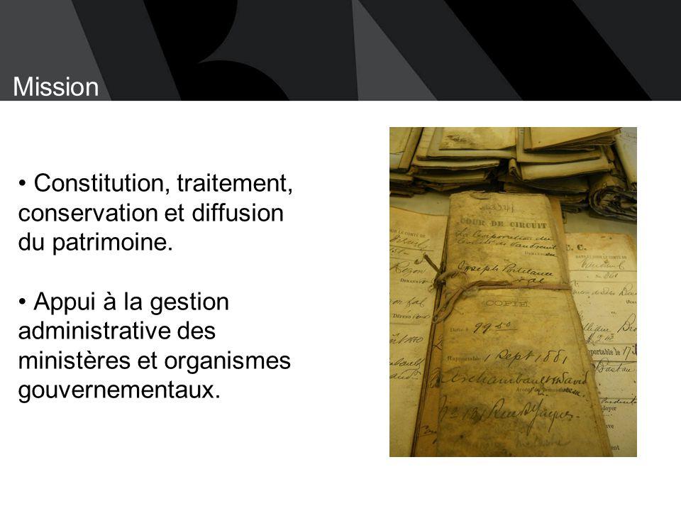 Collation de départ de Gustave Joseph Papineau (seulement la série n° 3)  1823, 1916 - 1971  15,51 mètres de documents textuels Bibliothèque et Archives nationales du Québec 15