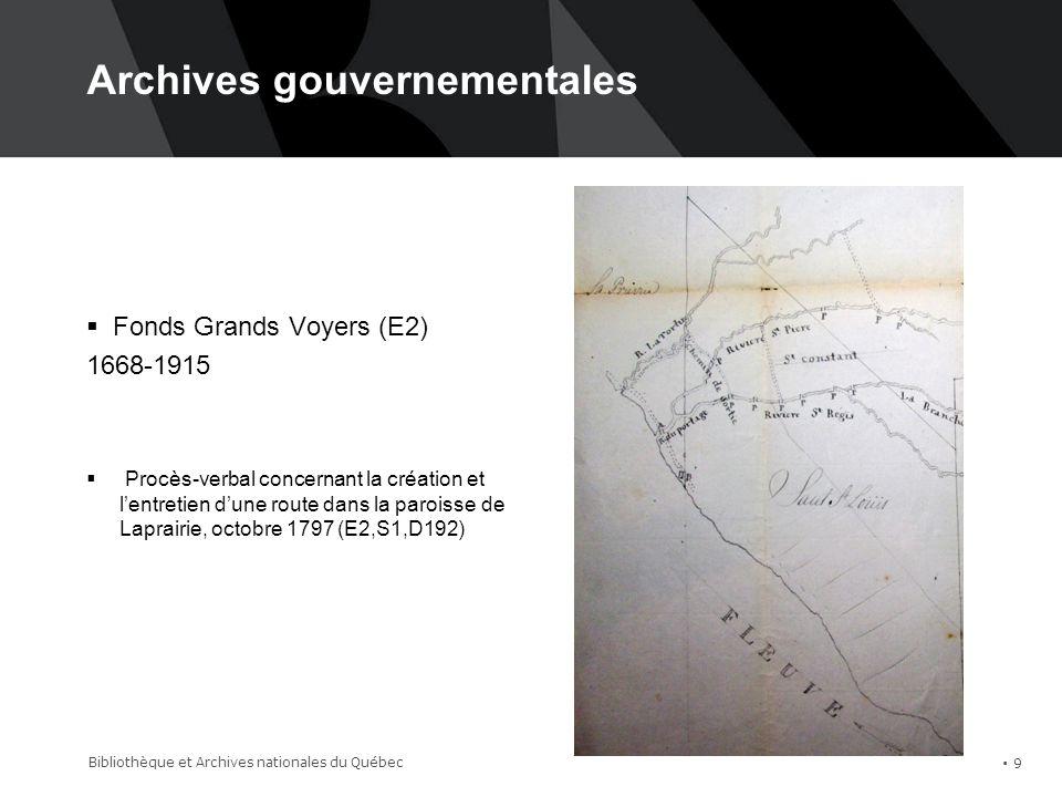 Archives judiciaires Bibliothèque et Archives nationales du Québec 10 Fonds Cour Supérieure, Greffe de Montréal (TP11,S2)
