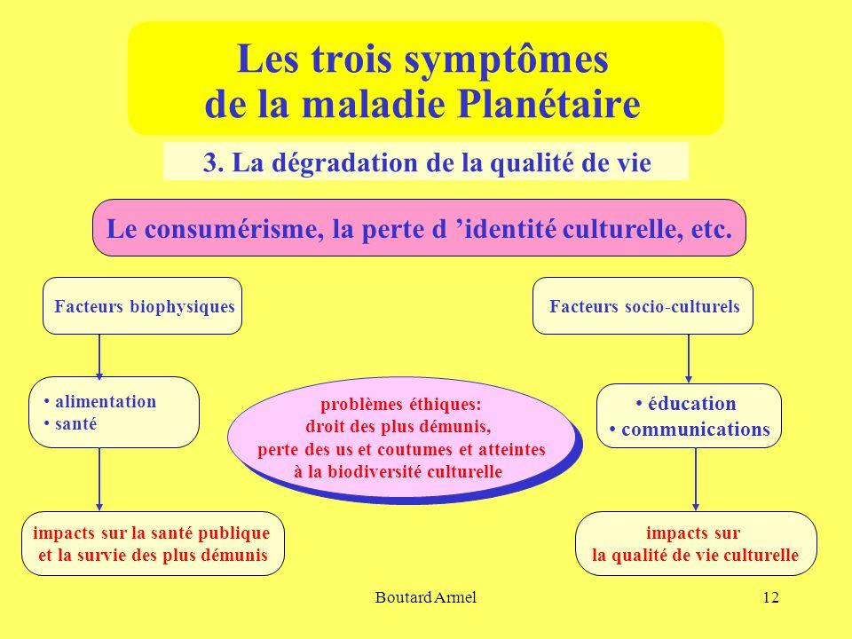 Boutard Armel12 Les trois symptômes de la maladie Planétaire 3.