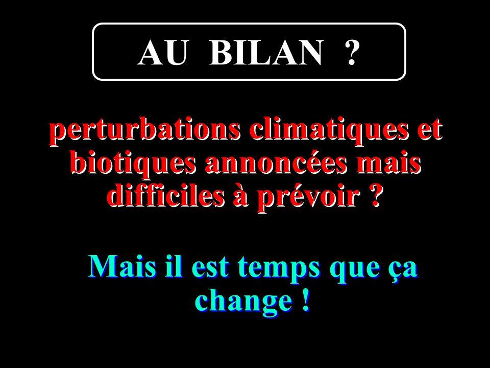 Boutard Armel14 perturbations climatiques et biotiques annoncées mais difficiles à prévoir .