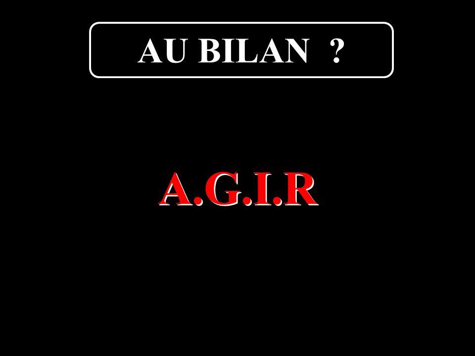 Boutard Armel38 A.G.I.R AU BILAN ?