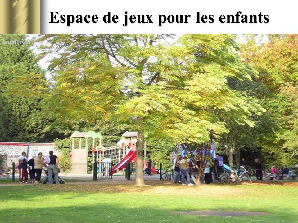 Espace de jeux pour les enfants