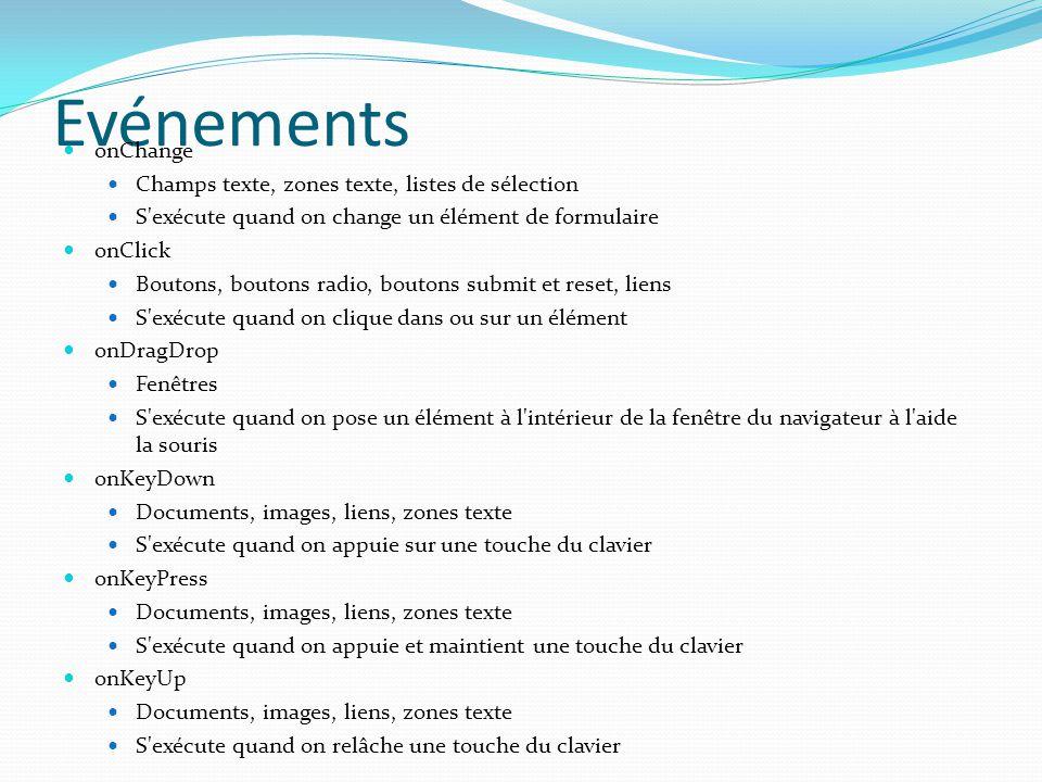 Faciliter le chargement lors du clic (suite) <!--; function actif(){document.images[ bouton1 ].src=img[1].src}; function passif(){document.images[ bouton1 ].src=img[0].src} //-->; <a href= PageX.html onmouseOver= actif(); onmouseOut= passif(); >