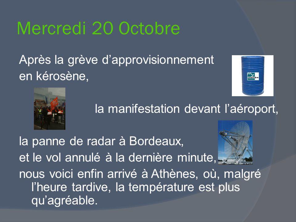 Après la grève d'approvisionnement en kérosène, la manifestation devant l'aéroport, la panne de radar à Bordeaux, et le vol annulé à la dernière minut