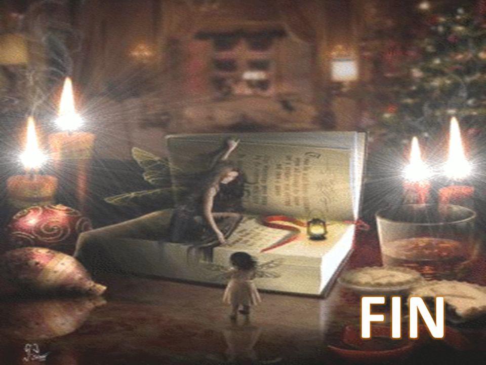 Depuis ce temps les anges font partie de la décoration de Noël...