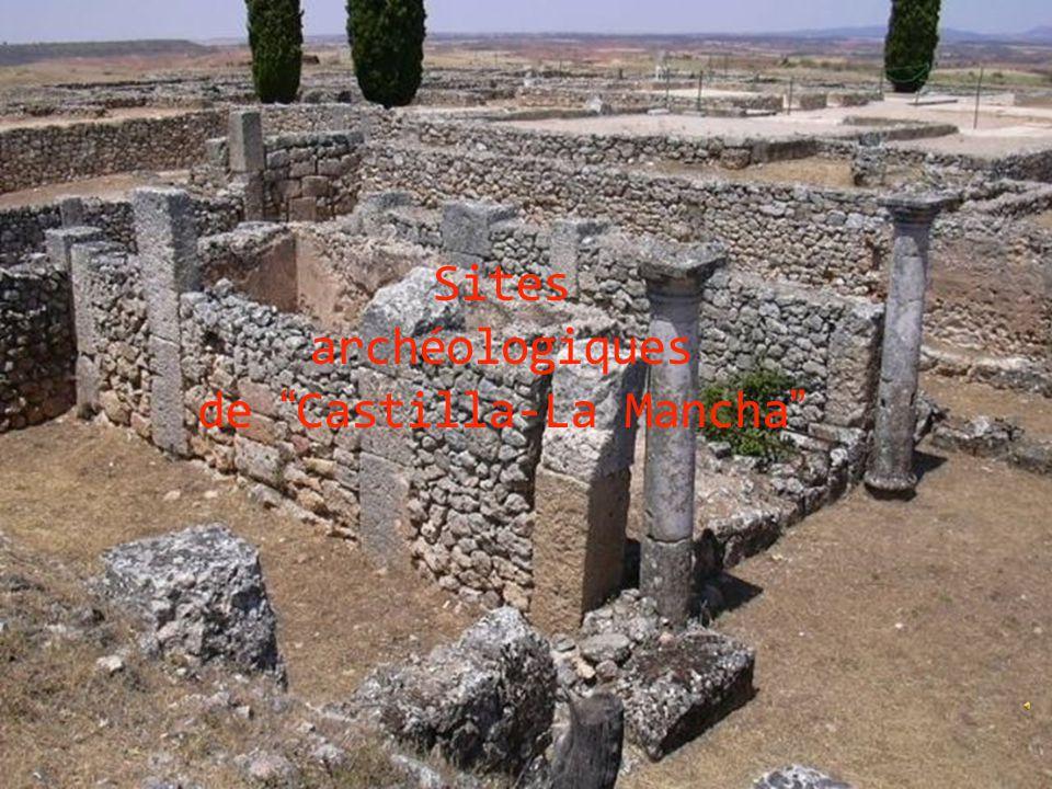 """Sites archéologiques de """"Castilla-La Mancha"""""""