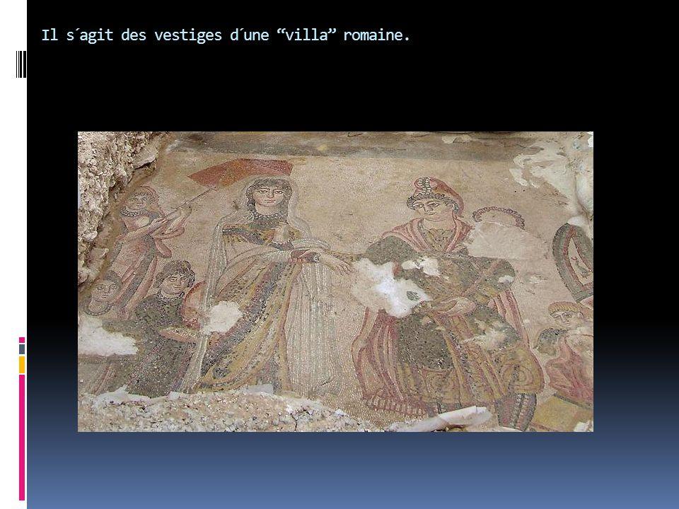 """Il s´agit des vestiges d´une """"villa"""" romaine."""