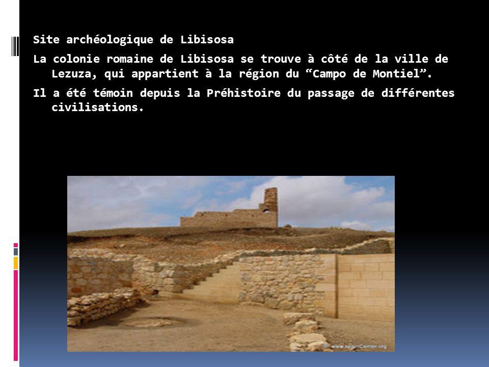 """Site archéologique de Libisosa La colonie romaine de Libisosa se trouve à côté de la ville de Lezuza, qui appartient à la région du """"Campo de Montiel"""""""