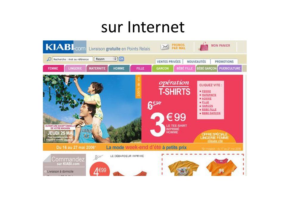 sur Internet