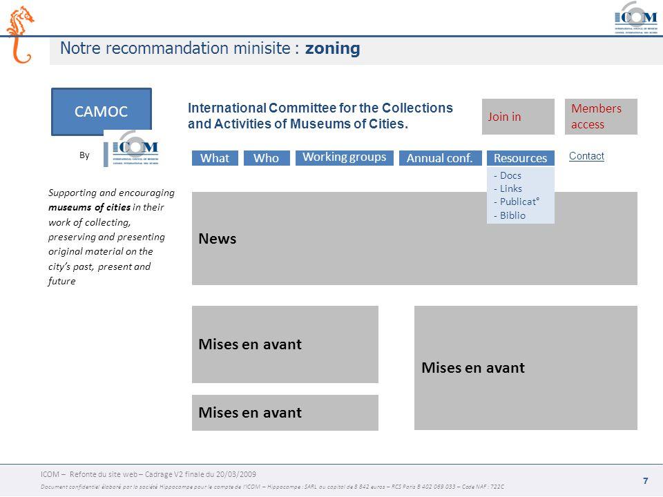 ACTUALITES QUI / MISSION BECOME A MEMBER GROUPES collaboratifs MEMBRES PROFILS RECHERCHE ACTUS Syndication home PUBLICAT° BdD PRESSE RECHERCHE dont pdf INDEXABILITE MULTILINGUE ICOM CORPO RATE METIER RESEAU P-A GALERIE MULTIMEDIA CONTACT RSS partners REMONTEE DYNAMIQUE INTERFACE BDD JOIN IN - membres - groupes NEWS LETTER SUPPORT.
