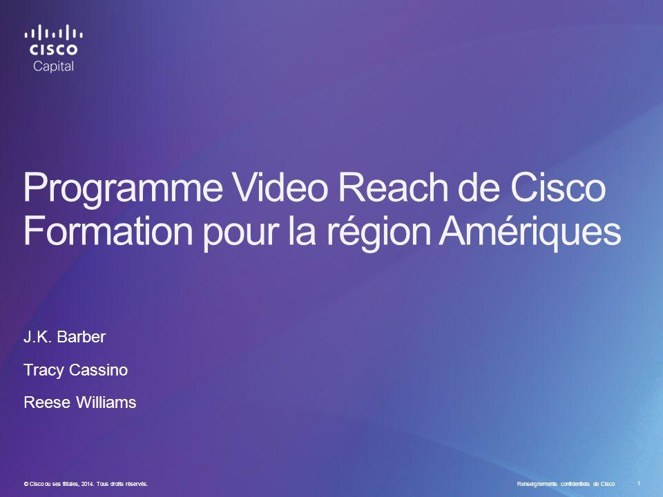 © Cisco ou ses filiales, 2014. Tous droits réservés.