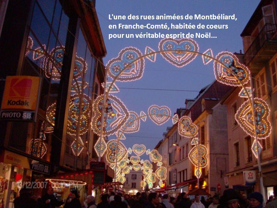 Saint-Malo, dans le département de l'Ille-et- Vilaine, attend sagement le passage du Père Noël qui ne pourra manquer cet arbre magnifique.