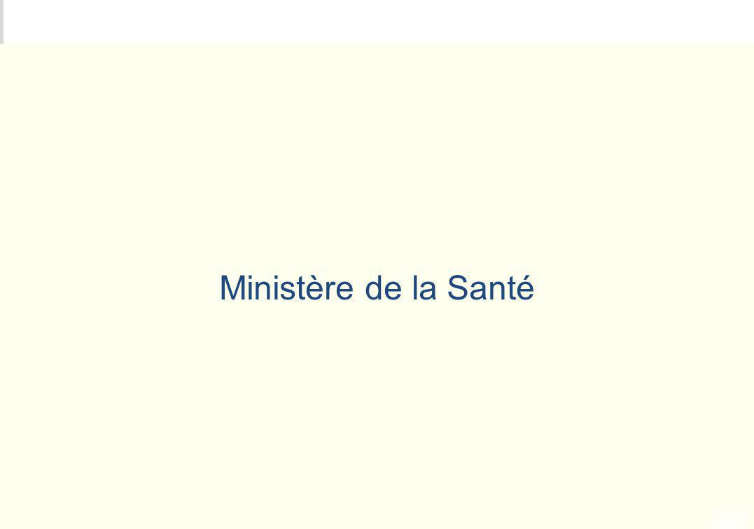 METEO DES PROGRAMMES Ministère de la Santé