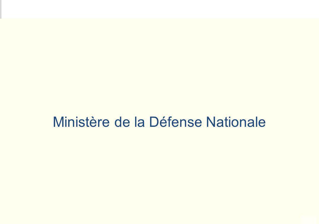 METEO DES PROGRAMMES Ministère de la Défense Nationale
