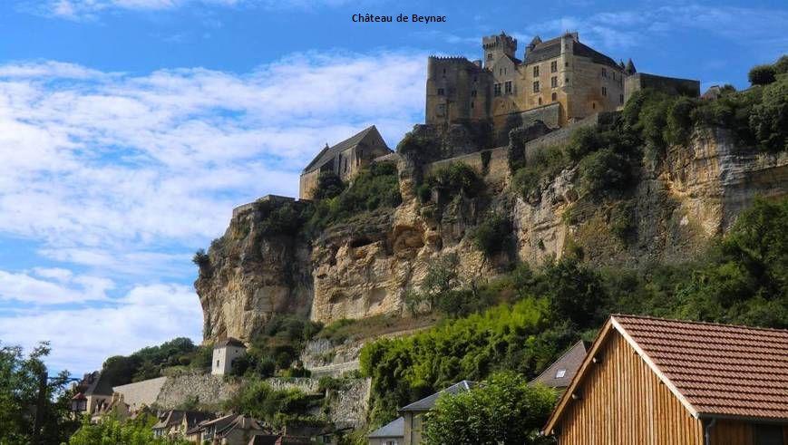 A l'intérieur du château de Beynac Dordogne