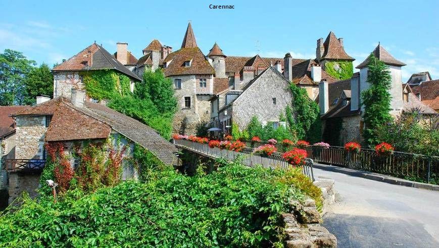 Beynac vu de Castelnaud