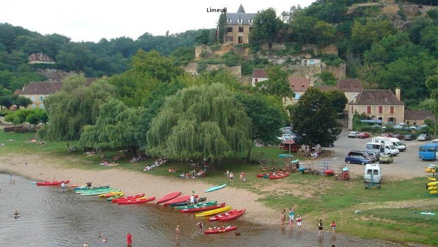 Limeuil : Le confluent de la Vézère et de la Dordogne