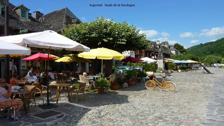 Argentat: Quais de la Dordogne