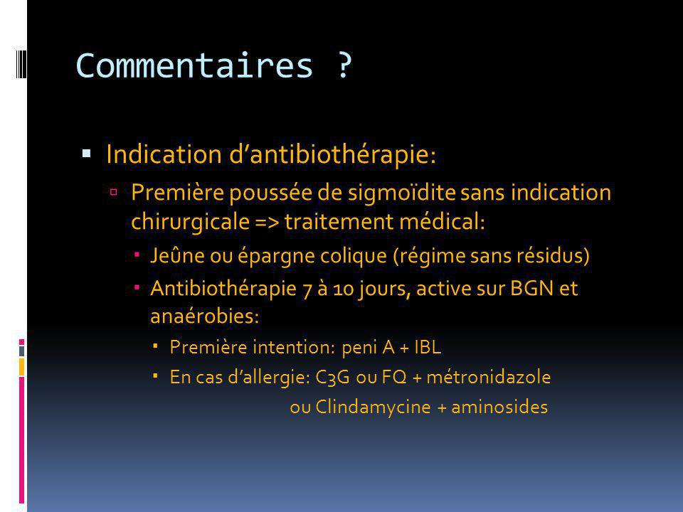 Commentaires .