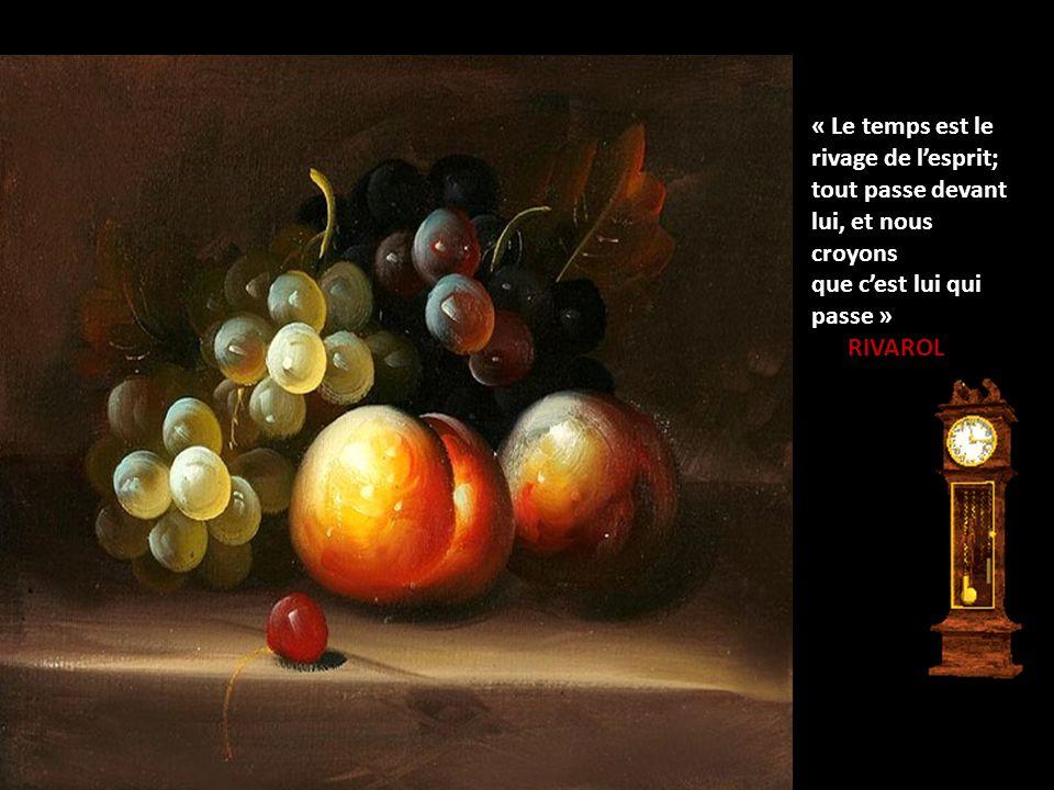« Le temps, c'est la toile dont je suis à la fois l'araignée et la mouche ». Jacques LESOURNE