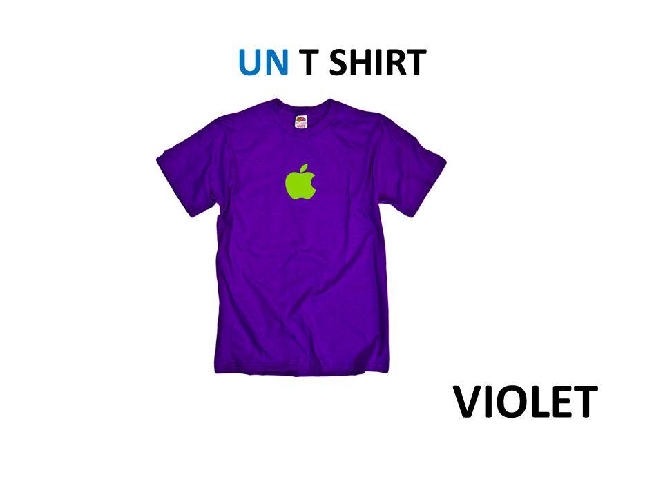 UN T SHIRT VIOLET